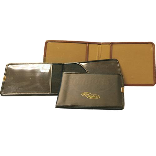 Brown Leather Disabled Badge Wallet