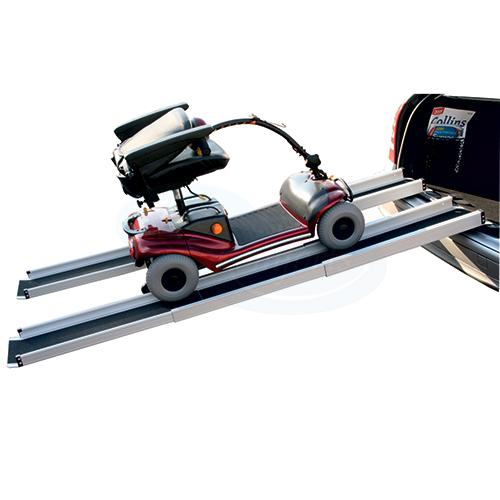 Pair of Telescopic Scooter Ramps - 5 ft long