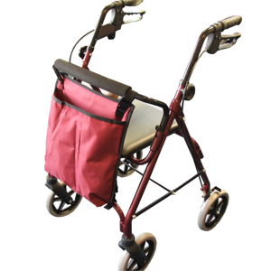 4 Wheel Rollator Bag - Black