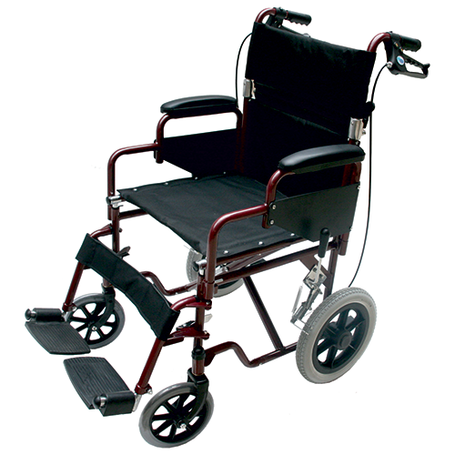 Kozee Transit Wheelchair with Loop Brakes